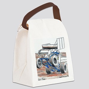 Wheel stand Canvas Lunch Bag