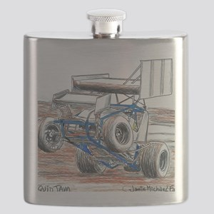 Wheel stand Flask
