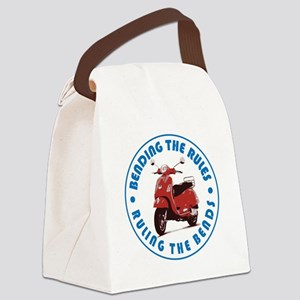 Ruling the Bends Canvas Lunch Bag