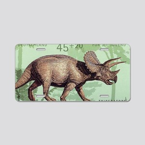2008 Germany Triceratops Po Aluminum License Plate