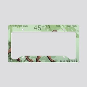2008 Germany Triceratops Post License Plate Holder
