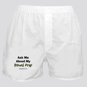 Bowel Prep Boxer Shorts