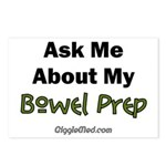 Bowel Prep Postcards (Package of 8)
