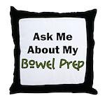 Bowel Prep Throw Pillow