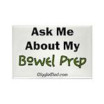 Bowel Prep Rectangle Magnet