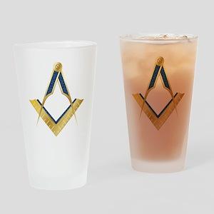 SC-goldplain Drinking Glass