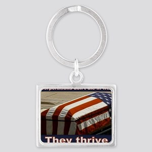 They Thrive Landscape Keychain