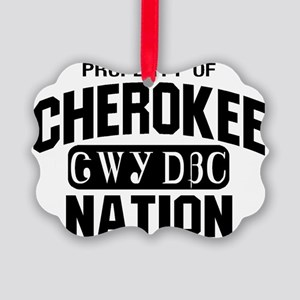 Property of Cherokee Nation Picture Ornament