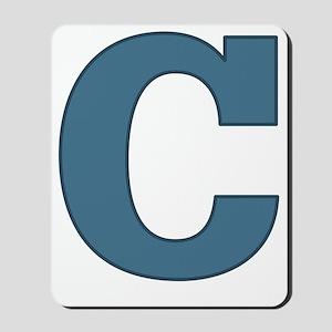 Alphabet C Mousepad