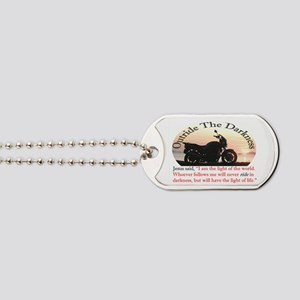 Outride The Darkness Dog Tags
