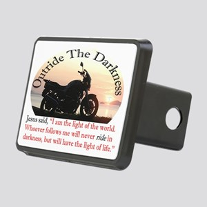 Outride The Darkness Rectangular Hitch Cover