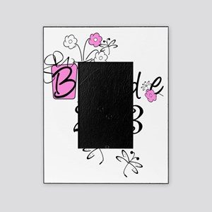 Butterflies and Flowers Bride 2013 Picture Frame