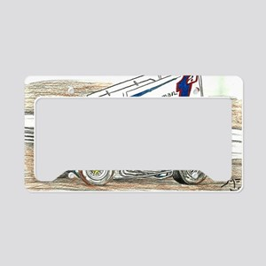 Sprints at Lincoln License Plate Holder