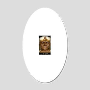 23X35-LG-Poster-hatshep 20x12 Oval Wall Decal