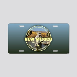 New Mexico Fly Fishing Aluminum License Plate