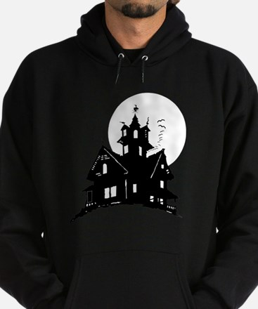 haunted house Hoodie (dark)