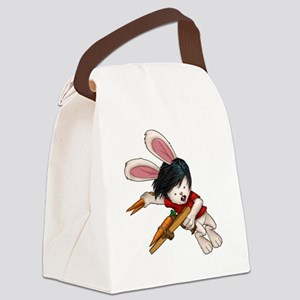 Jack Stompingtail - Zombie Squash Canvas Lunch Bag