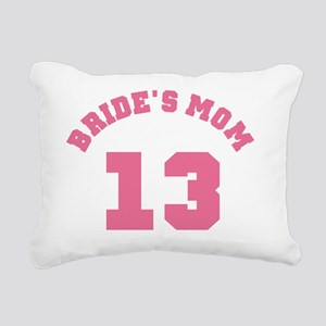 Pink Brides Mom 13 Rectangular Canvas Pillow
