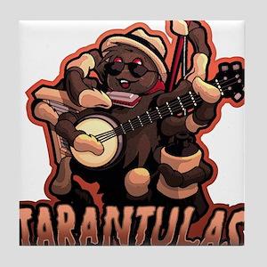 Tarantulas Jug Band Tile Coaster