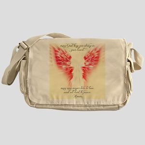 Angels Watch Over You Messenger Bag