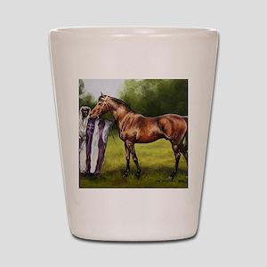 Haleb Shot Glass