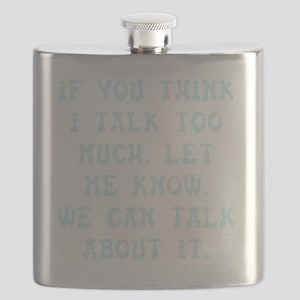 Talk Too Much Flask