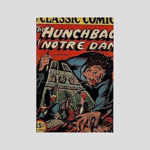 CC No 18 Hunchback of Notre Dame Rectangle Magnet