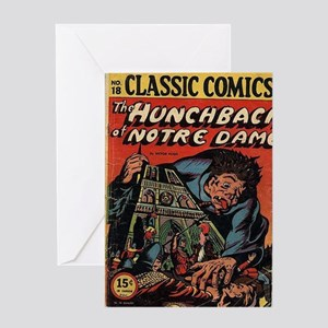 CC No 18 Hunchback of Notre Dame Greeting Card