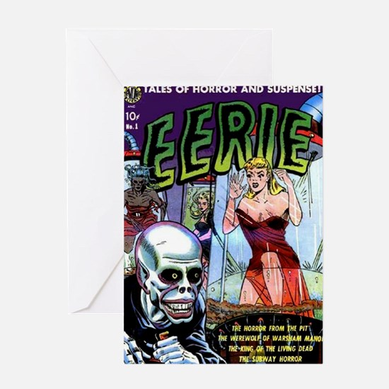 Eerie Comics No 1 (1951) Greeting Card