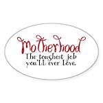 Motherhood Oval Sticker