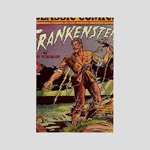 CC No 26 Frankenstein Rectangle Magnet