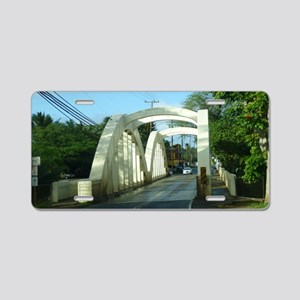 Haleiwa Bridge Aluminum License Plate