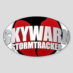 Skywarn Storm Tracker Sticker (Oval)