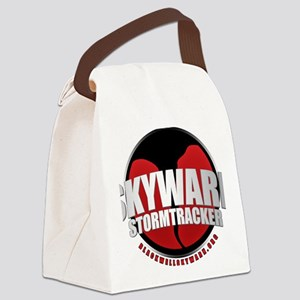 Skywarn Storm Tracker Canvas Lunch Bag