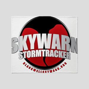 Skywarn Storm Tracker Throw Blanket
