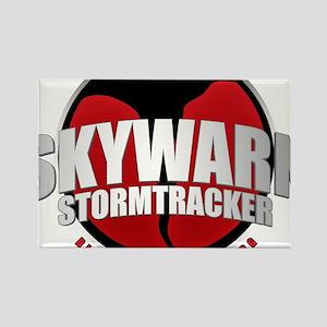 Skywarn Storm Tracker Rectangle Magnet