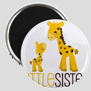 Little Sister Giraffe Magnet