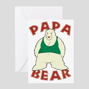 Papa Bear - Polar Greeting Card