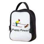 Puppy Power Neoprene Lunch Bag