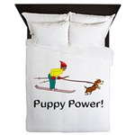 Puppy Power Queen Duvet