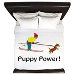 Puppy Power King Duvet