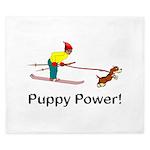 Puppy Power King Duvet