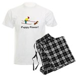 Puppy Power Men's Light Pajamas