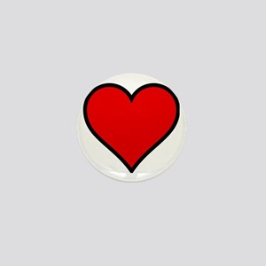 Love Heart Mini Button