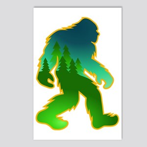 Sasquatch Forest Scene Postcards (Package of 8)
