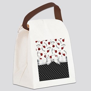 Little Ladybugs Canvas Lunch Bag