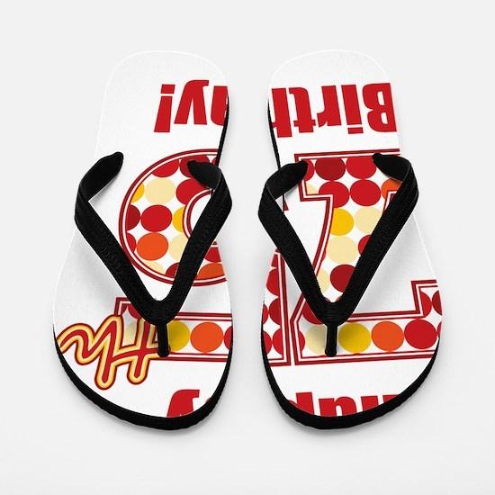 Happy 75th Birthday! Flip Flops