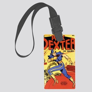 Rex Dexter of Mars No 1 Large Luggage Tag