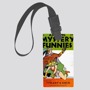 Amazing Mystery Funnies No 1 Large Luggage Tag