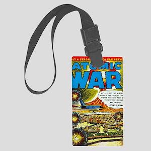 Atomic War! No 3 Large Luggage Tag